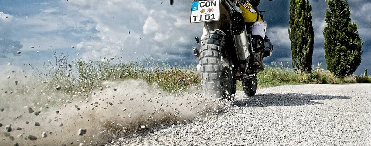 Schnelle Motorräder dürfen wieder mit M+S-Reifen fahren
