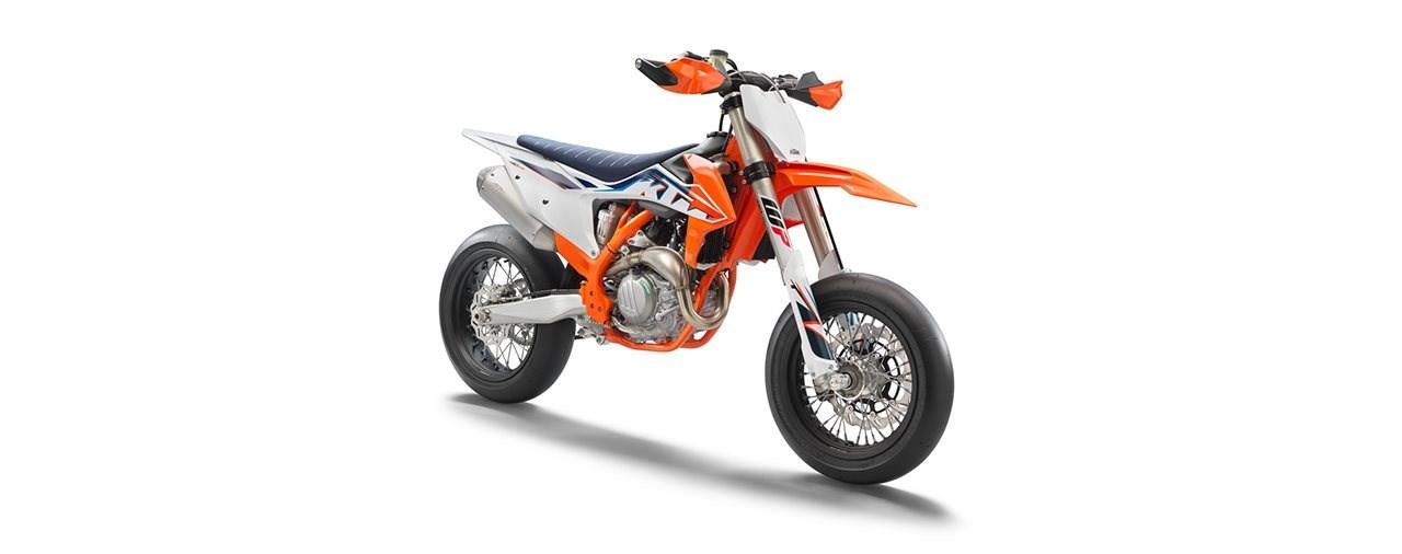 Neue KTM 450 SMR Supermoto 2022