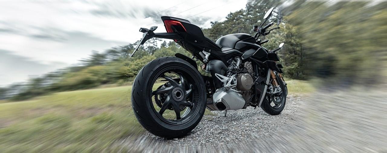 Test: thyssenkrupp-Carbonfelgen an der Ducati Streetfighter V4S