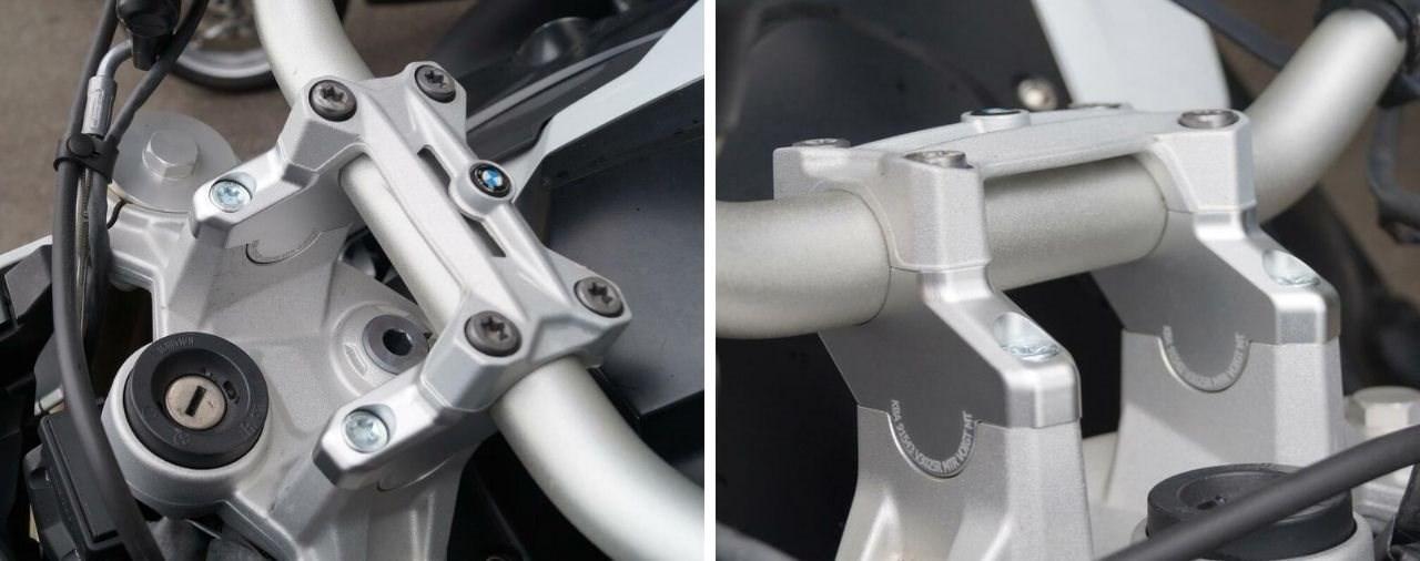 Hornig Lenkererhöhung für die BMW F 800 R (2015-2019)