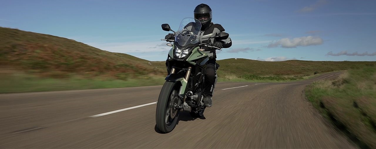 Honda CB500X 2022 Test