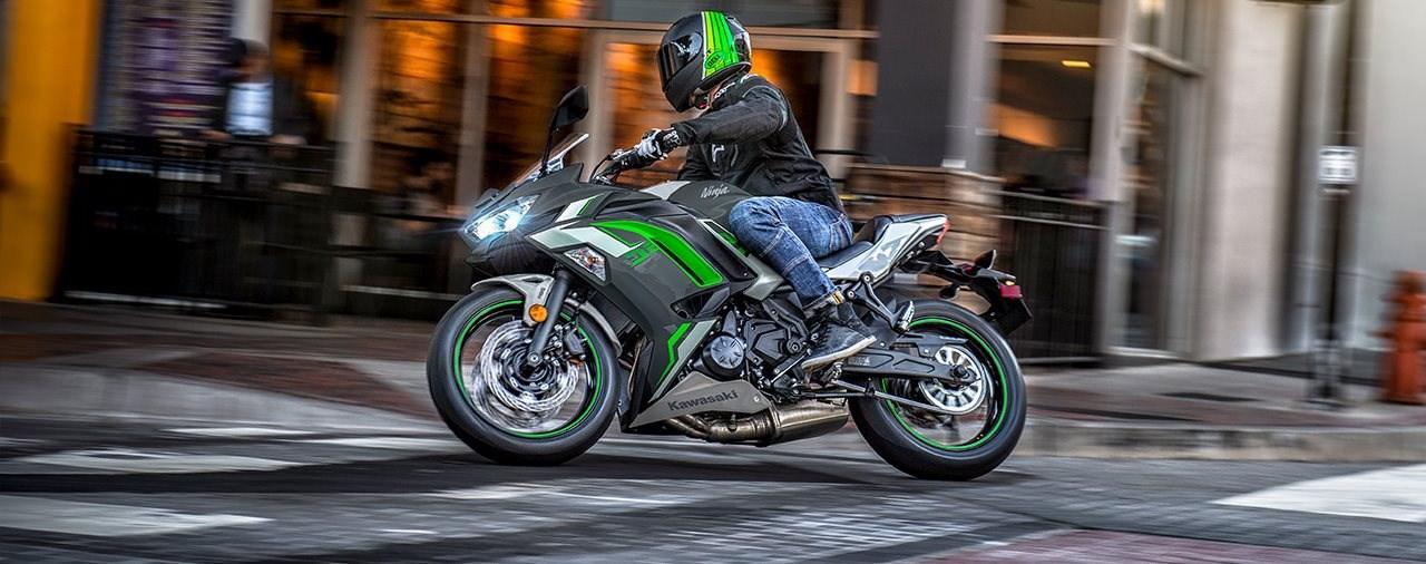 Kawasaki Ninja 650 mit neuen Farben für 2022