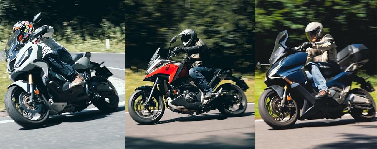 Honda Konzeptvergleich: Forza 750 vs. NC750X DCT vs. X-ADV!