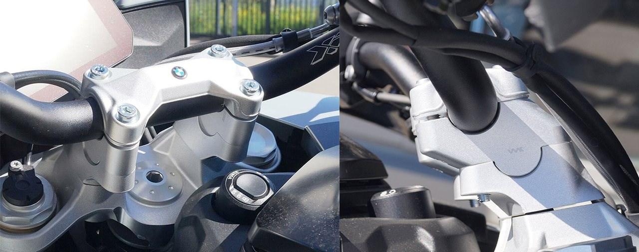Hornig Lenkererhöhungen für die BMW S 1000 XR
