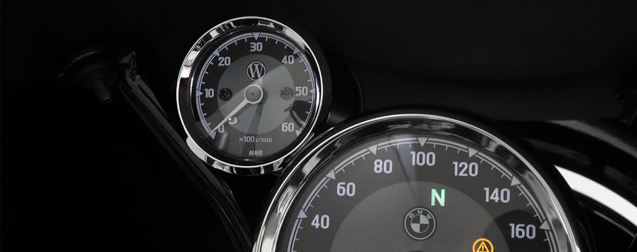 Wunderlichs analoger Drehzahlmesser für die BMW R 18