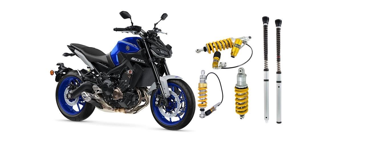 Öhlins Fahrwerk für die Yamaha MT-09 (2014-2020)