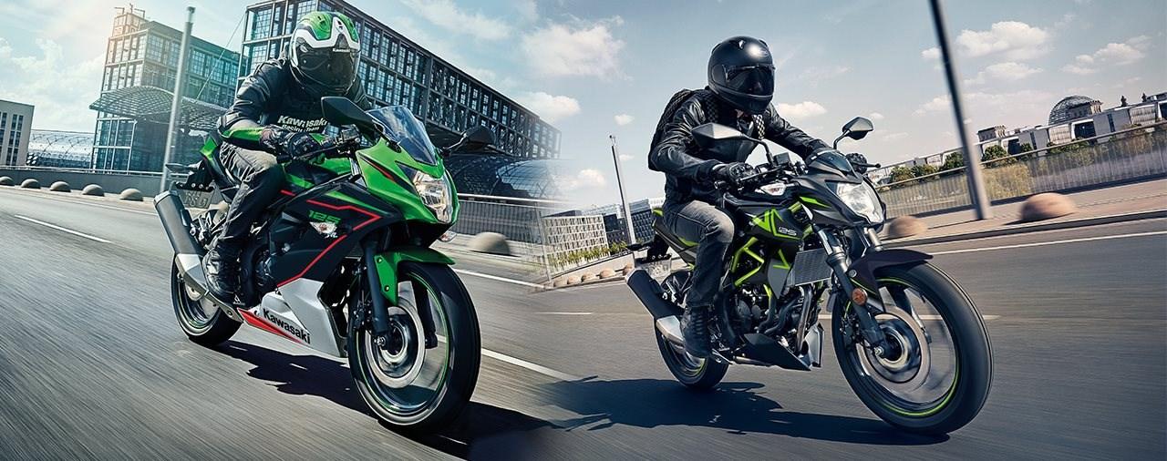 Kawasaki Ninja 125 und Z125 2022