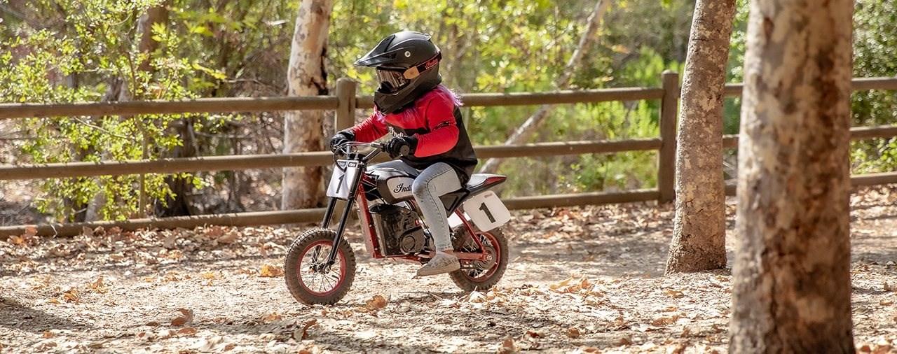Indian Elektrobike für Kinder: eFTR Mini 2022