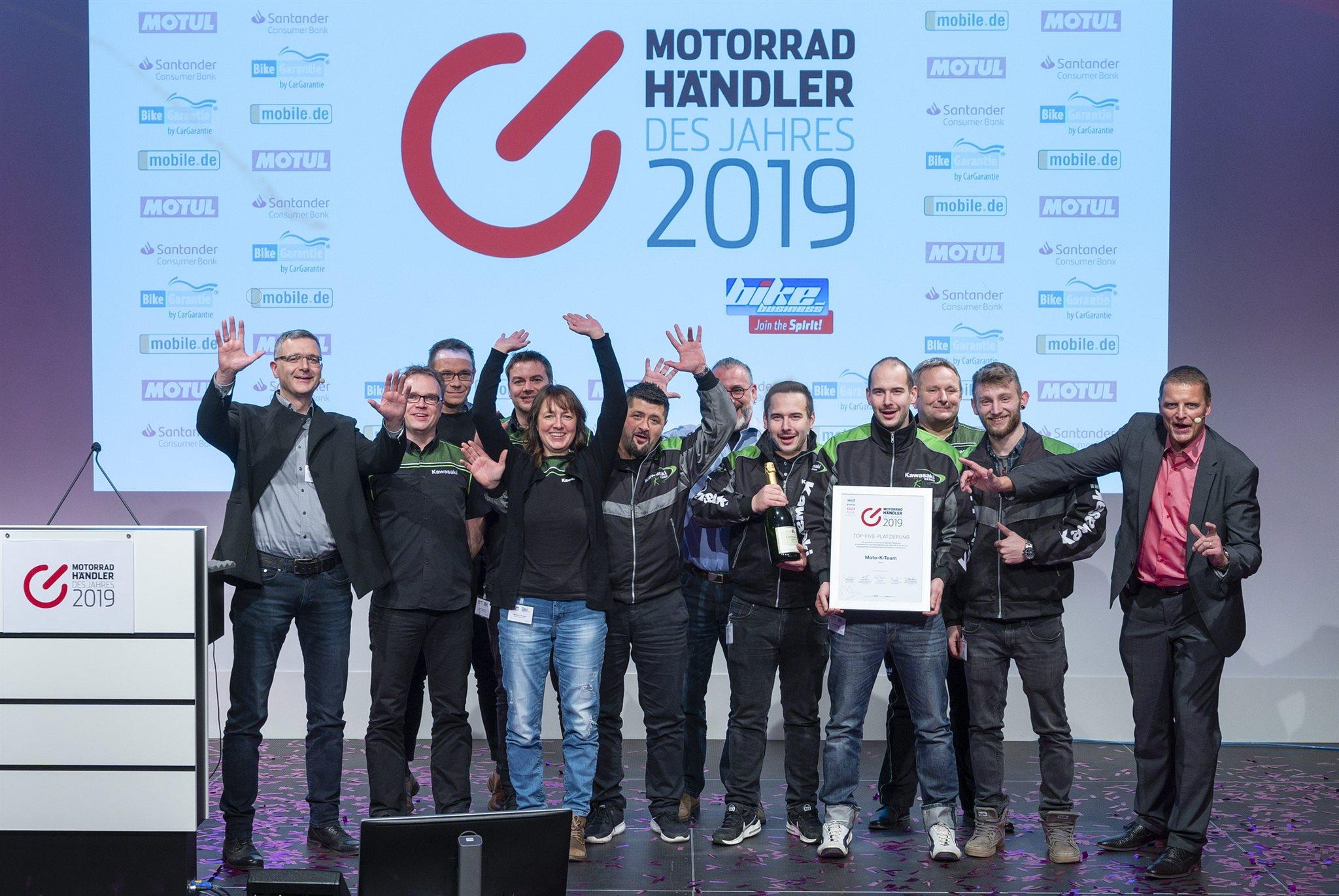 Motorradhändler des Jahres 2019 -Top Five-
