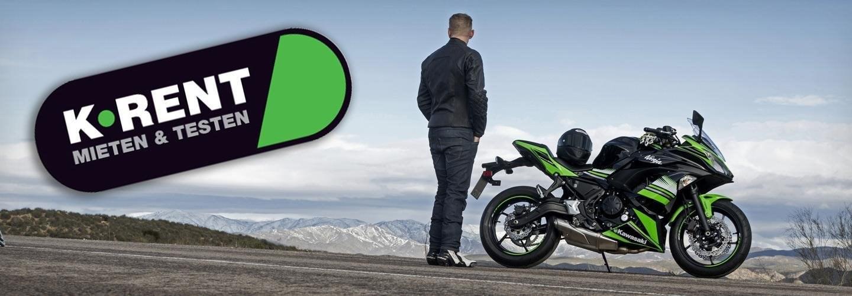 Einfach ein Motorrad mieten - bei uns !