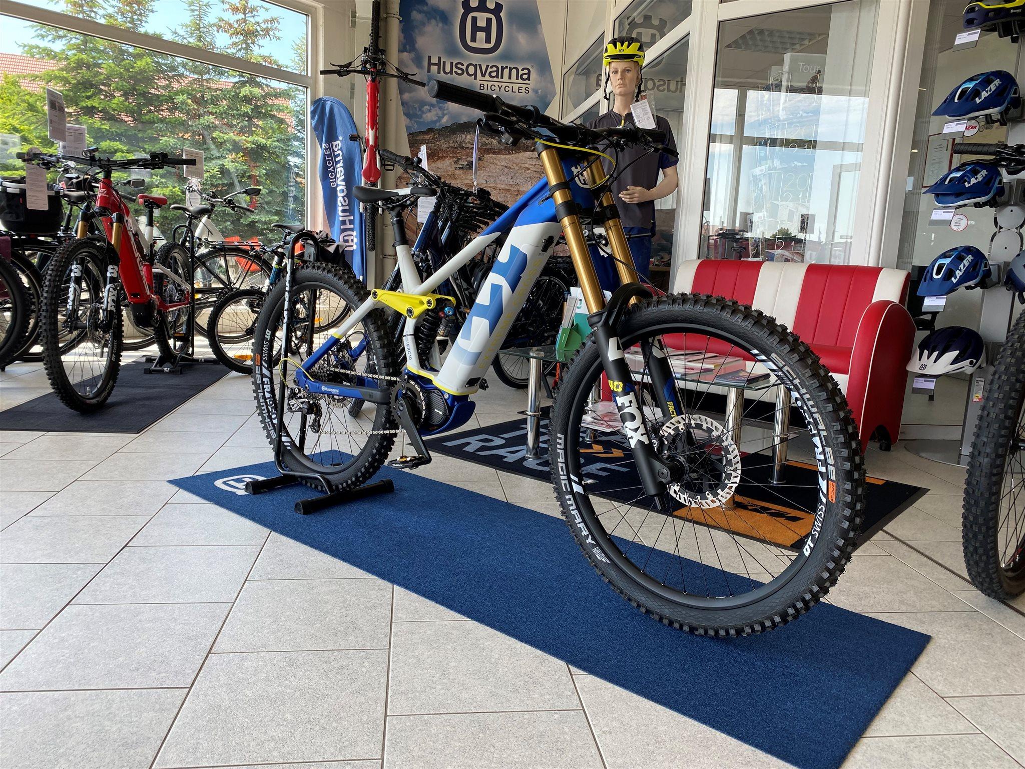 Husqvarna E-Bicycles.