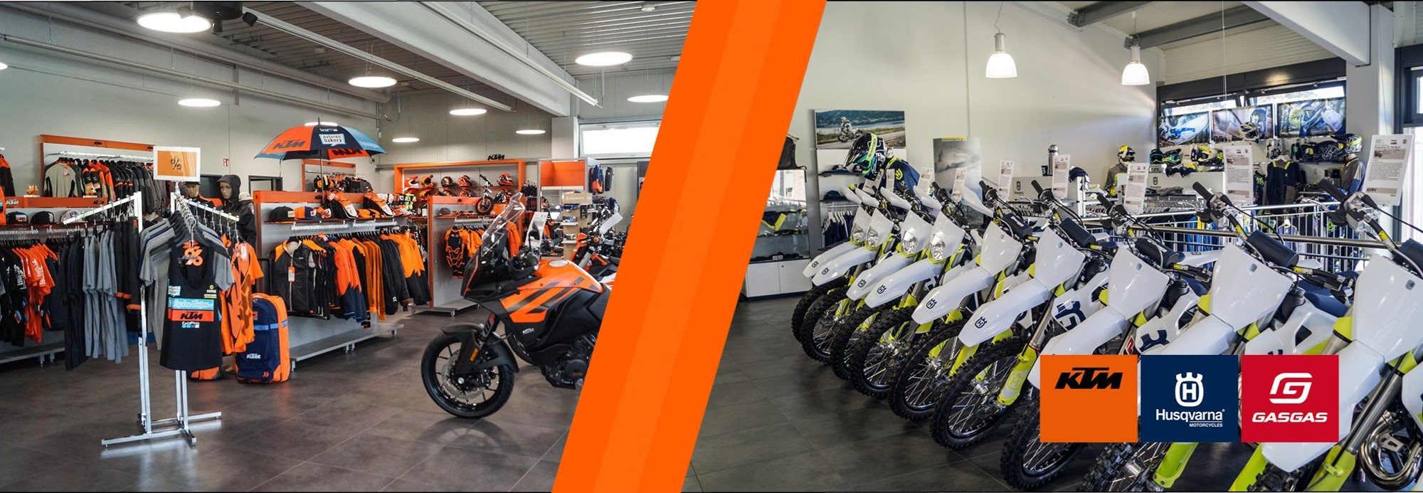 Willkommen bei GST Berlin - dein KTM, Husqvarna und Gasgas Motorrad Händler in Berlin Biesdorf und Dreilinden