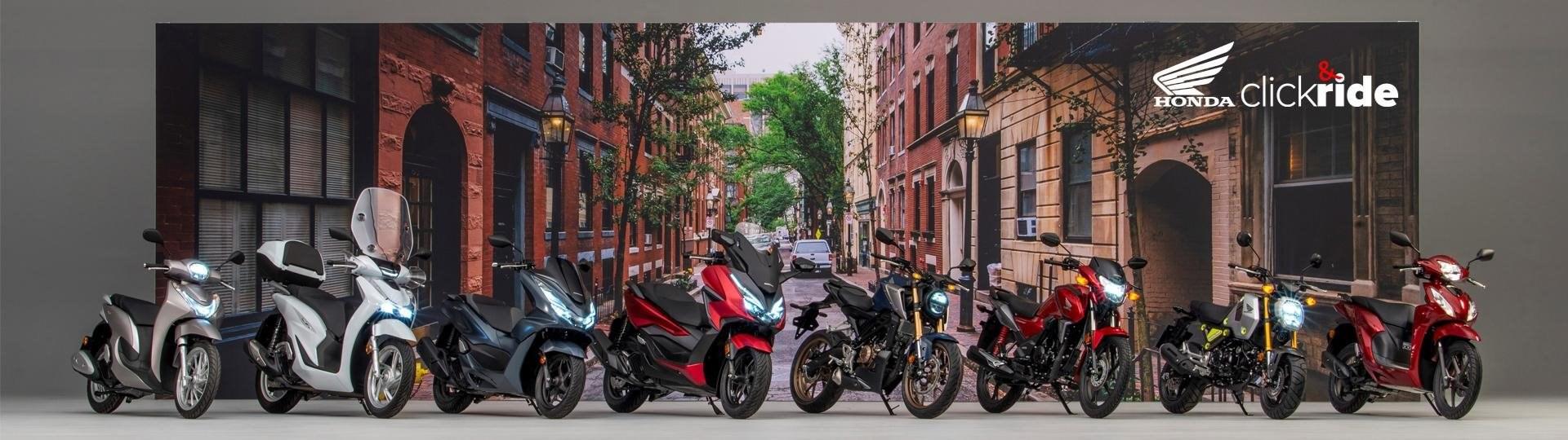 Bestelle dein Motorrad/Roller auch im Lockdown: mit Click & Ride
