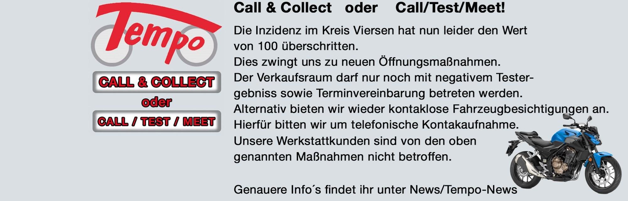 CALL / TEST / MEET