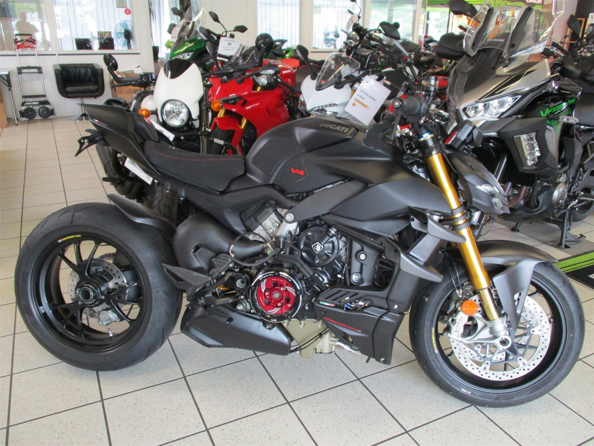 DUCATI STREETFIGHTER V4S EDIZIONE Dark Stealth -  made by Team Wahlers