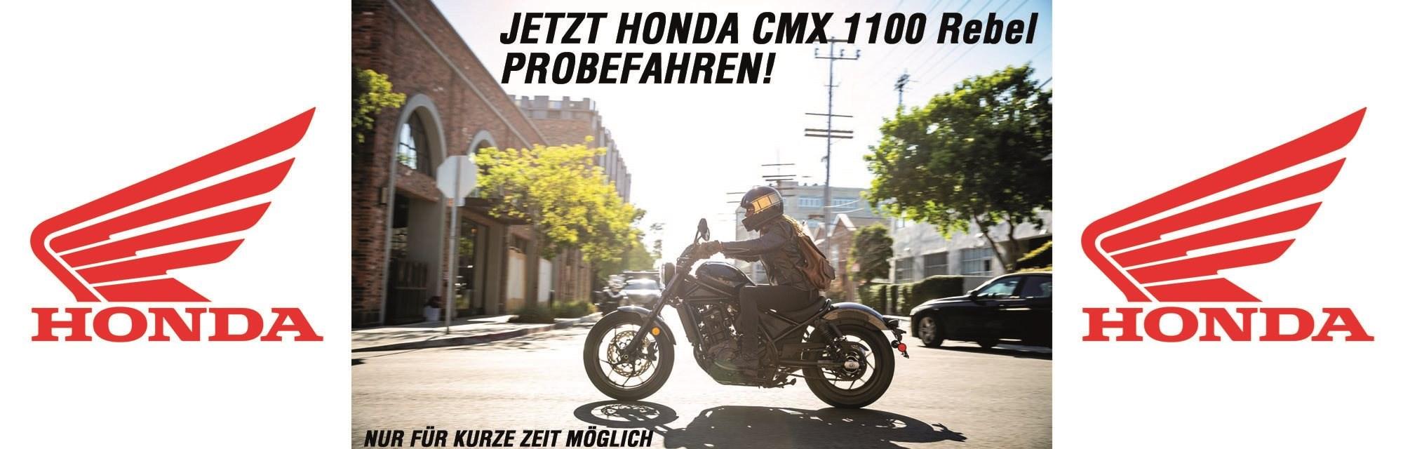 Jetzt Probefahrt CMX 1100 Rebel