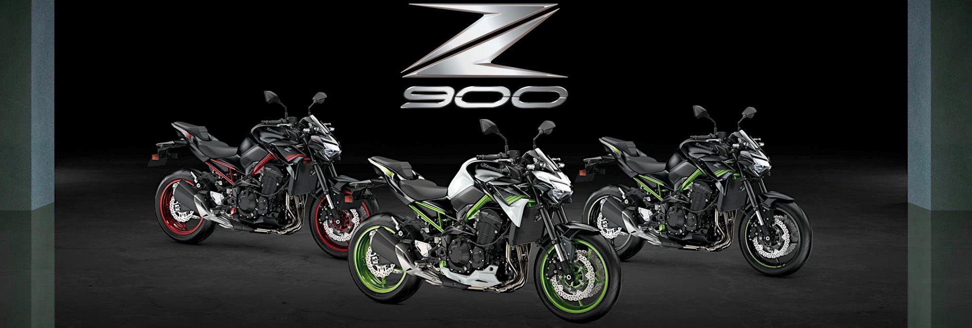 Z900 - neue Farben 2021