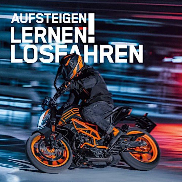 AUFSTEIGEN - LERNEN - LOSFAHREN