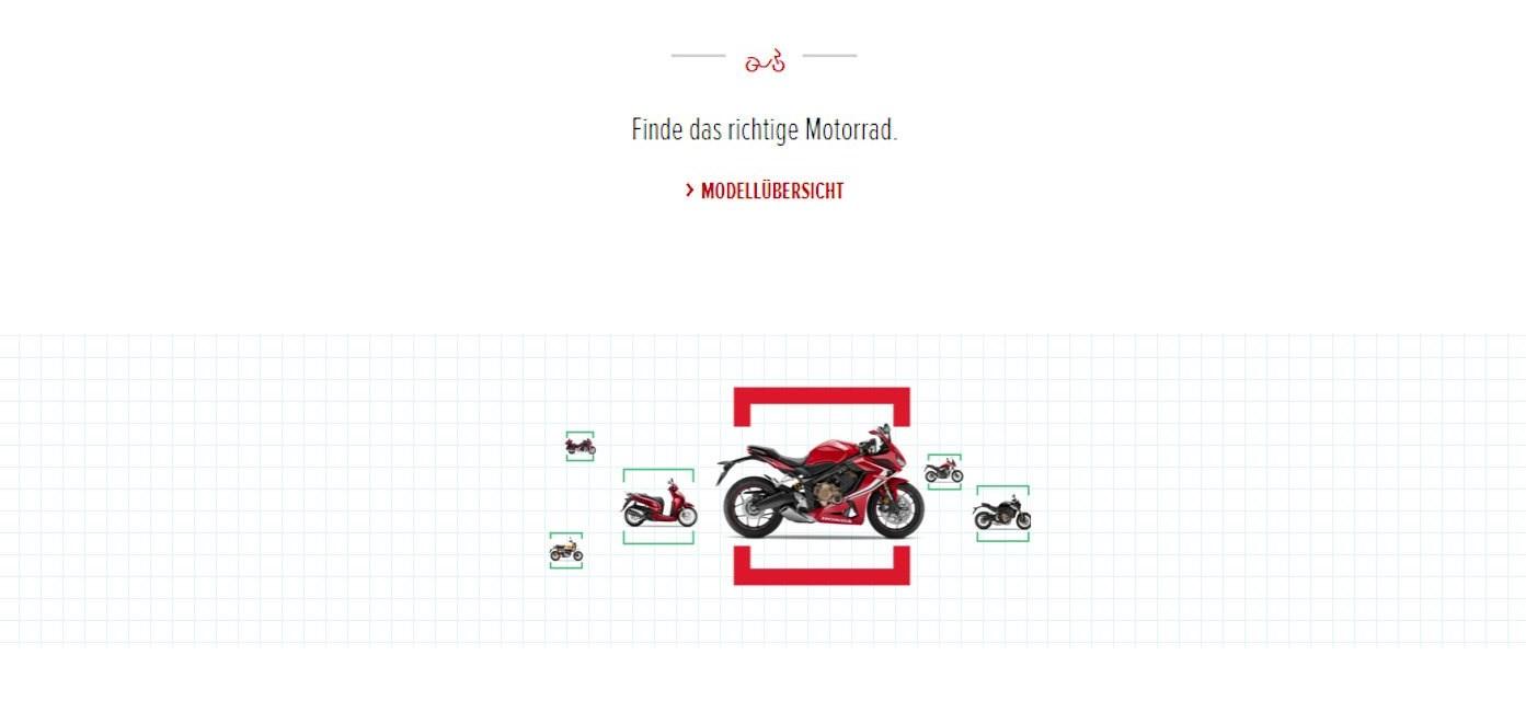 Finde das richtige Motorrad.