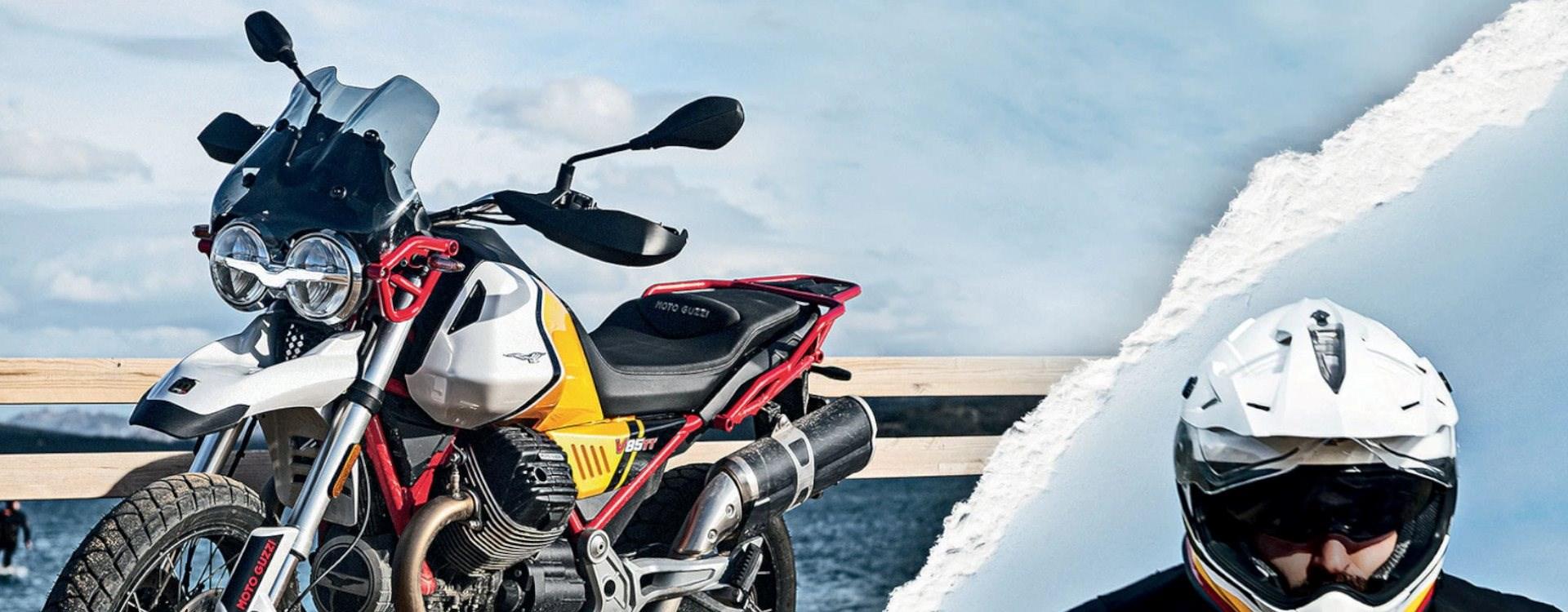 Sie haben die Wahl: 500€ Wechselprämie oder Garantieverlängerung für das 3. und 4. Jahr beim Kauf einer neuen Moto Guzzi.
