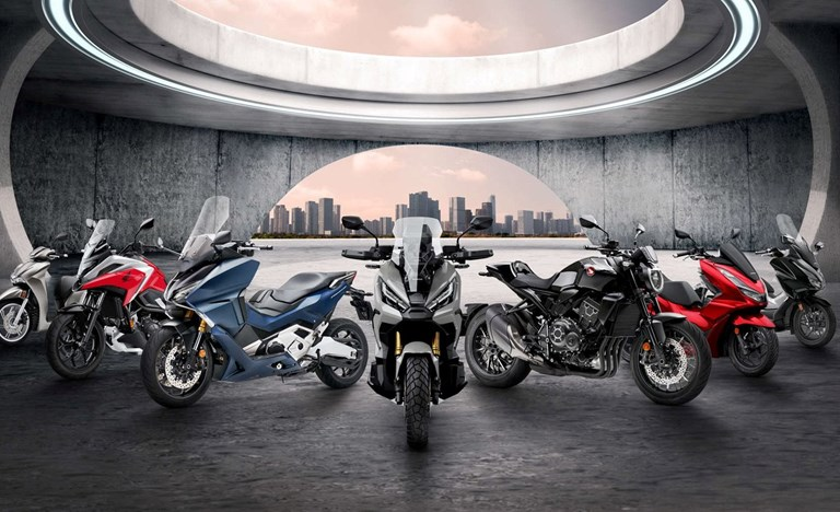 Repsonsive Neue Motorräder 2021