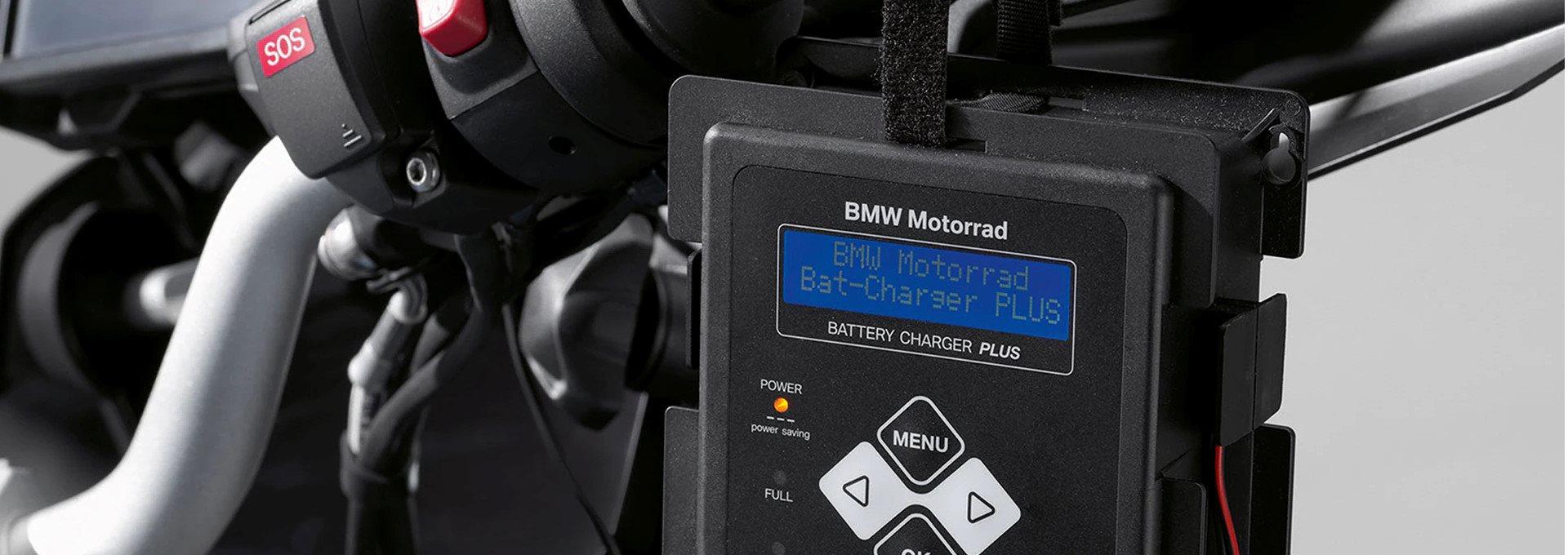 AUFGELADEN DURCH DEN WINTER 19 % AUF UNSER BMW MOTORRAD BATTERIELADEGERÄT PLUS SICHERN