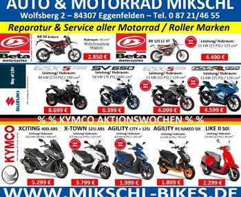 AKTIONEN Sommer 202050 / 50 DEAL mit SUZUKI Motorrädern