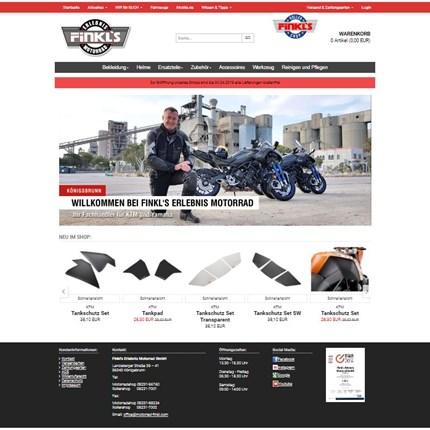 Onlineshop Unseren Onlineshop findet Ihr hier:www.finkl-onlineshop.deWir bieten eine große Auswahl an Bekleidung, Ersatzteile & Zubehör sowieAccessoires von Yamaha, KTM, Piaggio/Vespa und Moto Guzzi.Wir bieten 5 verschiedene Zahlar...