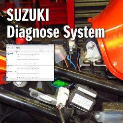 Bei entsprechend ausgerüsteten SUZUKI Motorrädern mit Einspritzsystem und/oder ABS können wir über unser SUZUKI Diagnose System aktuelle Motor- und ABS-Messwerte sowie Fehlermeldungen (F1 Fehler) auslesen und effizient ...