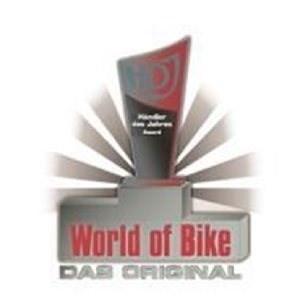Händler des Jahres 2010 Stöbe Motorräder wurde beim Händlerkontest, Motorradhändler des Jahres 2010, von World of Bike, NGK, Castrol und der Creditplus Bank ausgezeichnet. Wir konnten uns den dritten Platz sichern.