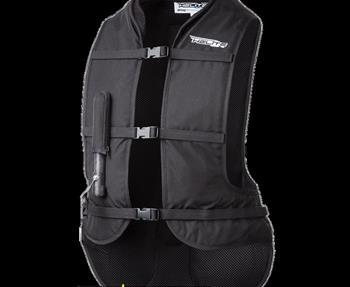 Die Besonderheit der TURTLE Weste ist ihr Aufbau. Der hochwertige Sas-Tec Rückenprotektor ist wie ein Schildkrötenpanzer über dem Airbag angebracht. Helite Zeichnung Dadurch werden neben dem Schutz durch den Airbag an ...