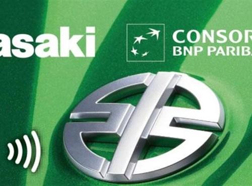 Kawasaki-Kreditkarte