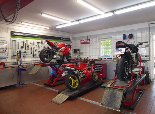 Unser Service Motorrad Trapp
