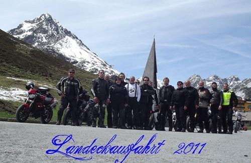 Ausfahrt nach Österreich 2011