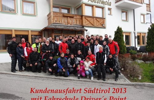Kundenausfahrt 2013 in die Dolomiten