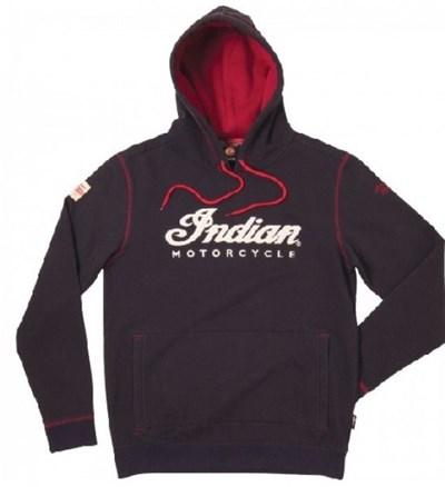 Indian Indianerkopf-Kapuzenpulli