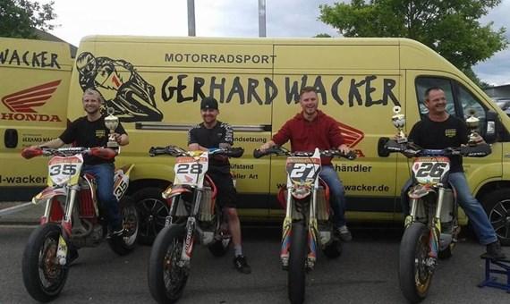 Unternehmensbilder Motorradsport Gerhard Wacker 1