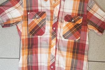 Checkered Shortsleeve M, XXL