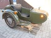 Beiwagen für Dnepra oder Ural