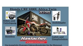 Hyperpro Honda CRF 1000L Africa Twin