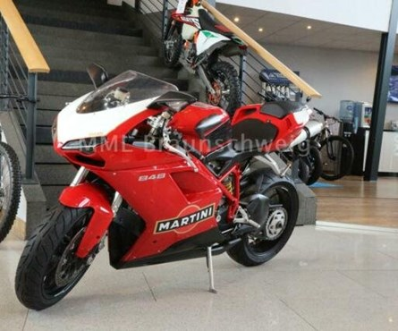 Gebrauchtmotorrad Ducati 848