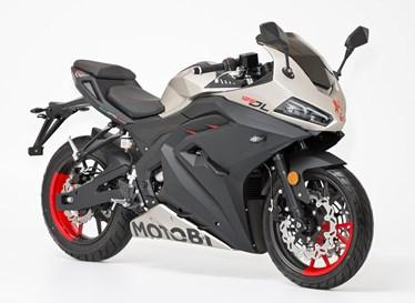 Neumotorrad: Motobi DL 125, Baujahr: 2021, 3.999,00 EUR