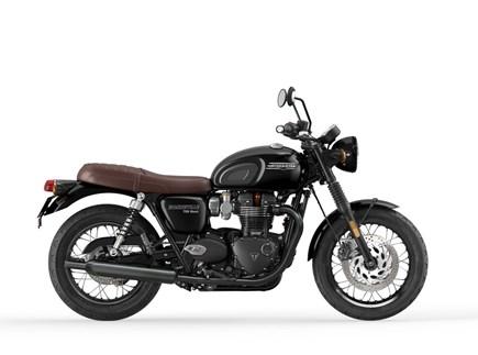 NYE KJØRETØY Triumph Bonneville T120 Black
