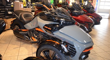 Neumotorrad Can-Am Spyder F3-S Sonderedition