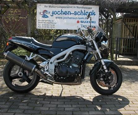 Gebrauchtmotorrad Triumph Speed Triple 900 T 509