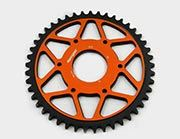 Supersprox EDGE orange 45Z KTM390/RC125