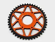 Supersprox EDGE orange 45Z KTM390/RC125