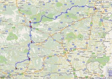 Von Feldkirchen in Kärnten nach Wiener Neustadt
