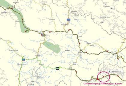 Motorrad Tour Montenegro-, Cakorpass 1849 m