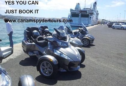 Motorrad Tour Drei Insel Tour Lanzarote - Fuerteventura - Gran Canaria